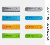 set of download buttons | Shutterstock .eps vector #507200443
