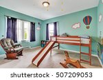 Cheerful Kid's Bedroom With...