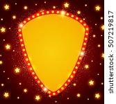 abstract shining retro light... | Shutterstock .eps vector #507219817