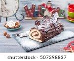 Cakes Christmas Log Home...