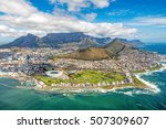 cape town and the 12 apostels... | Shutterstock . vector #507309607