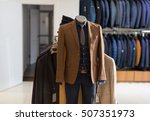 male mannequin formal wear... | Shutterstock . vector #507351973