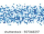 abstract squares background.... | Shutterstock .eps vector #507368257
