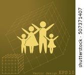 family vector icon | Shutterstock .eps vector #507371407