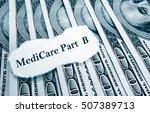 medicare part b headline on... | Shutterstock . vector #507389713