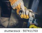 choosing right screws....   Shutterstock . vector #507411703
