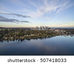 aerial landscape of the... | Shutterstock . vector #507418033