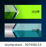 business banners background ...   Shutterstock .eps vector #507458113