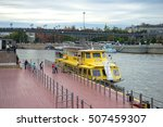 moscow  russia   september 07  ... | Shutterstock . vector #507459307