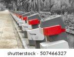 bike sharing station   Shutterstock . vector #507466327
