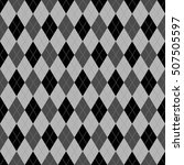 seamless argyle pattern.... | Shutterstock .eps vector #507505597