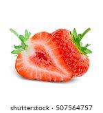 Fresh Strawberry Fruit Isolate...