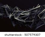 abstract 3d rendering of... | Shutterstock . vector #507579307