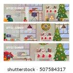 vector flat design concepts of... | Shutterstock .eps vector #507584317