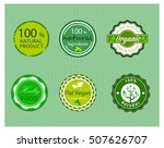 organic product promotion... | Shutterstock .eps vector #507626707