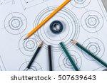 detail shot of architectural... | Shutterstock . vector #507639643