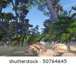 Avatar Movie Style Forest
