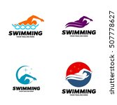 swim  swimming club  swimmer... | Shutterstock .eps vector #507778627