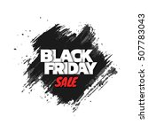 black friday sale. abstract... | Shutterstock .eps vector #507783043