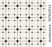 vector seamless pattern. modern ... | Shutterstock .eps vector #507810913