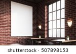 close up of bar interior with... | Shutterstock . vector #507898153