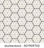 vector seamless pattern. modern ...   Shutterstock .eps vector #507909703