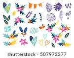 vector trendy elements    Shutterstock .eps vector #507972277
