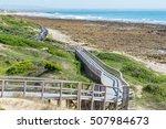 beachwalk in port elisabeth in... | Shutterstock . vector #507984673