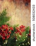 family holiday  christmas tree... | Shutterstock . vector #508032433