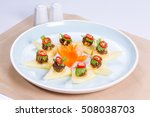 fruits with sweet and savory...   Shutterstock . vector #508038703