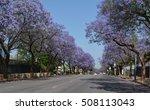 Streets In Pretoria With...