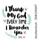I Thank My God Every Time I...