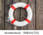 Close Up View Of A Life Buoy O...