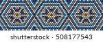 trendy  modern ethnic  beaded ...   Shutterstock .eps vector #508177543