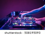 nightclub parties dj. sound... | Shutterstock . vector #508195093