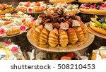 cake and pastries high school... | Shutterstock . vector #508210453