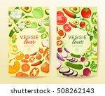 veggie lover elements   vector... | Shutterstock .eps vector #508262143