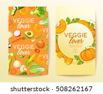 veggie lover elements   vector... | Shutterstock .eps vector #508262167