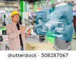 industry 4.0 and smart... | Shutterstock . vector #508287067