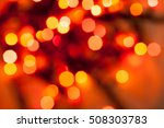 colorful abstract bokeh of... | Shutterstock . vector #508303783
