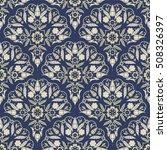 seamless turkish pattern in... | Shutterstock .eps vector #508326397