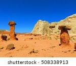 toadstool rock formation  ... | Shutterstock . vector #508338913
