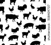 vector illustration seamless... | Shutterstock .eps vector #508409737