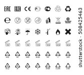 packaging symbols set  vector | Shutterstock .eps vector #508425463