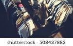 clothes shop costume dress... | Shutterstock . vector #508437883