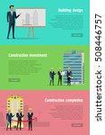 building design. construction... | Shutterstock .eps vector #508446757