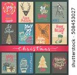 Collection Of Nine Christmas...