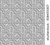 geometric abstract arabic... | Shutterstock .eps vector #508455307