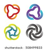 design vector logo template.... | Shutterstock .eps vector #508499833