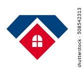 home logo vector. diamond icon.   Shutterstock .eps vector #508542313
